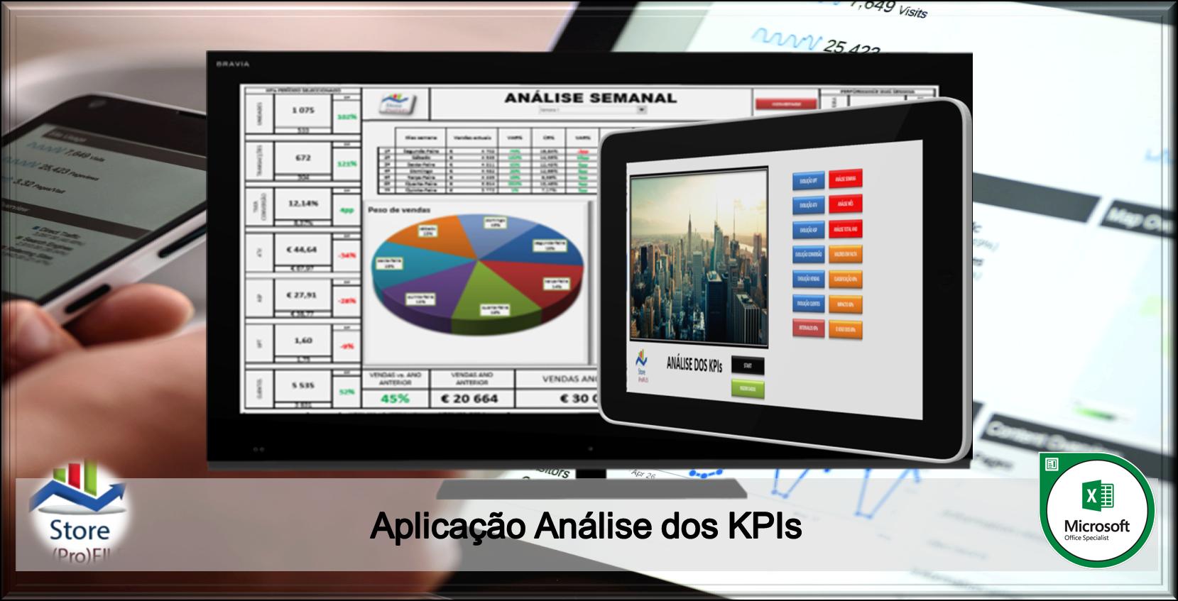 Aplicação Análise dos KPIs