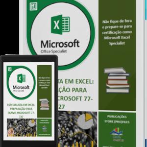 Ebook Especialista em Excel - Preparação para exame Microsoft 77-727