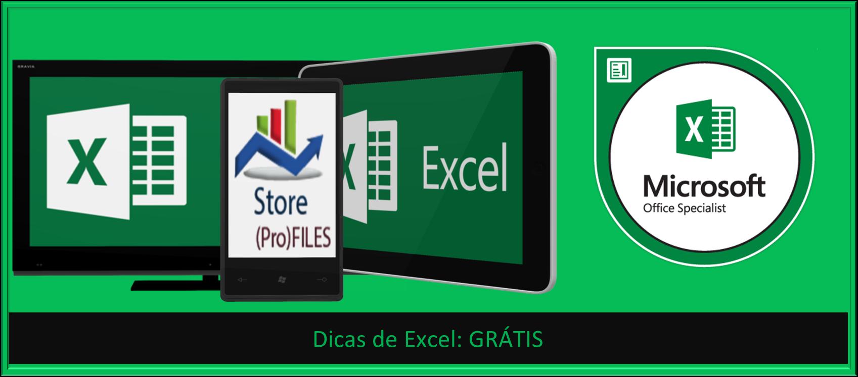 Dicas de Excel grátis