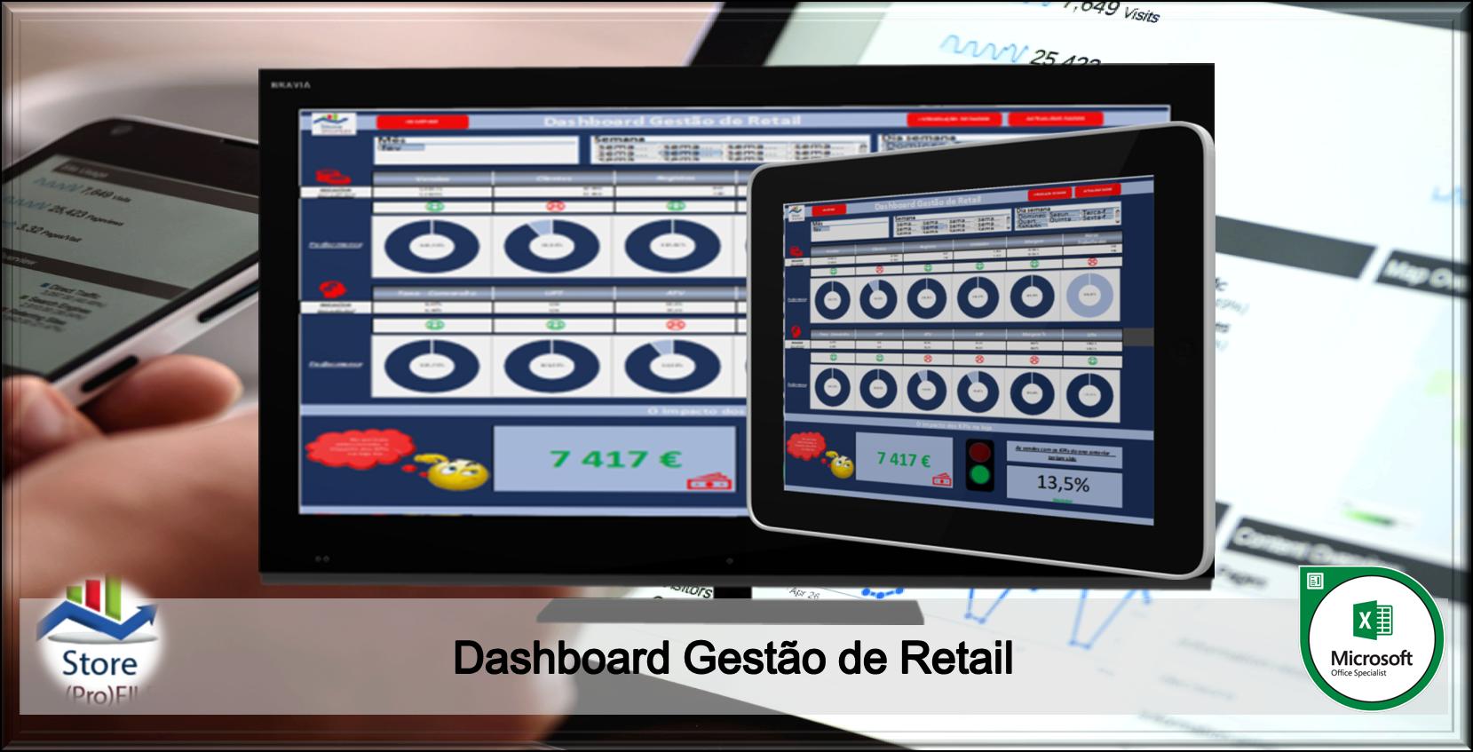 Dashboard Gestão de Retail