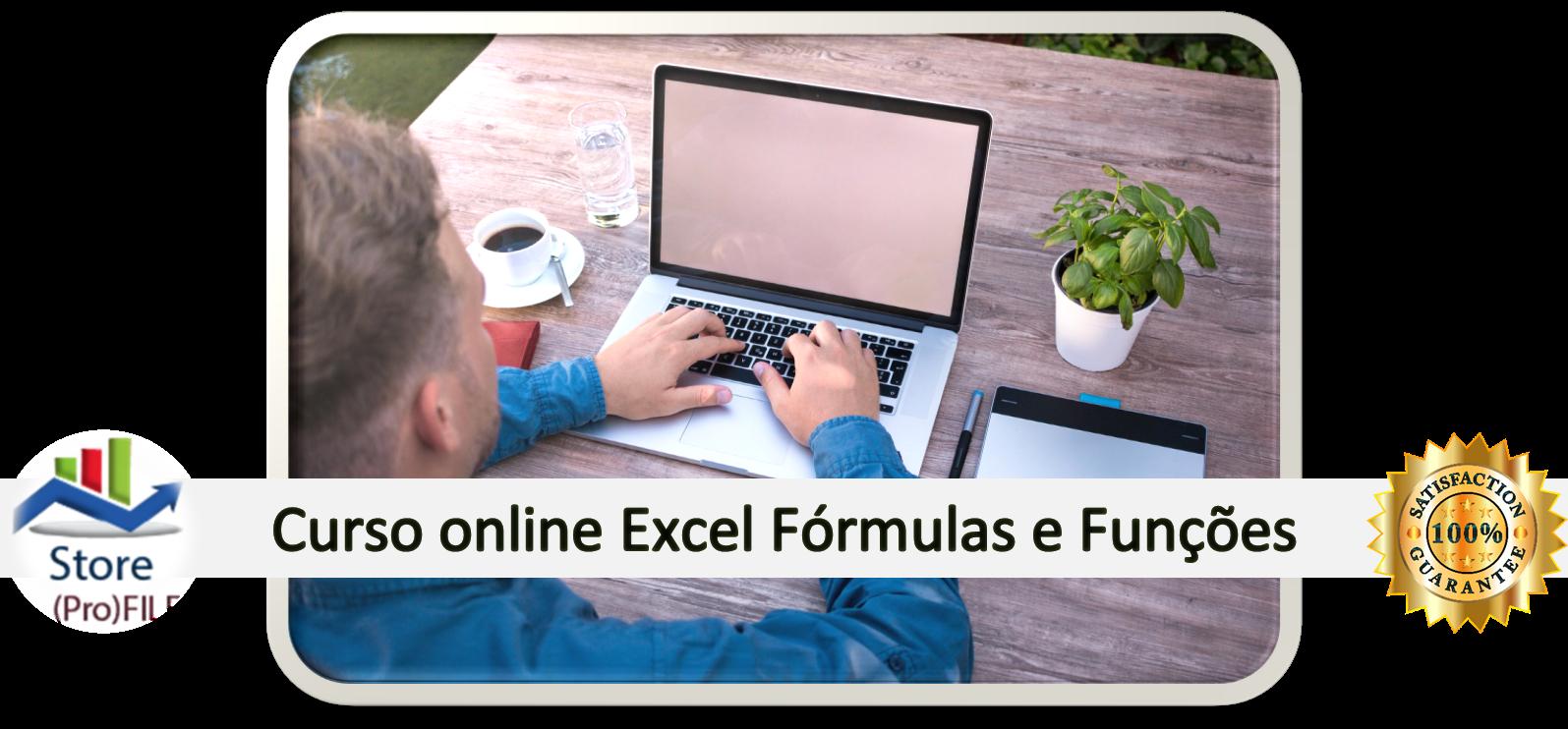 Curso Excel fórmulas e funções