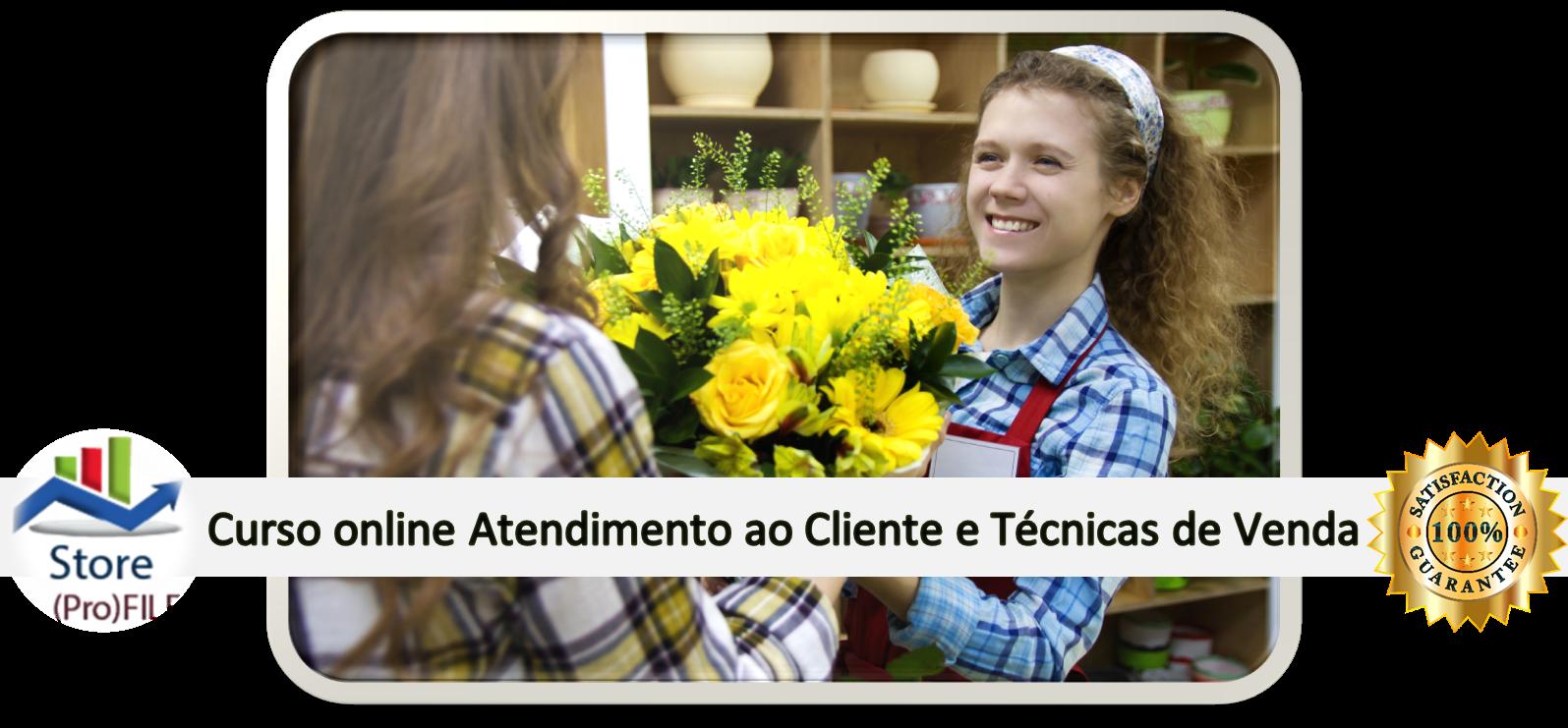 Curso Atendimento ao Cliente e Técnicas de Venda