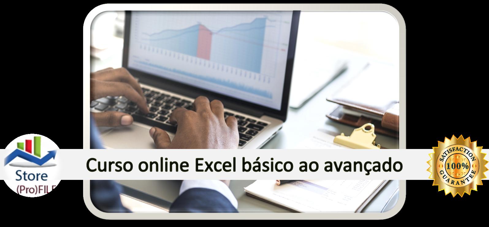 Curso Excel básico ao avançado