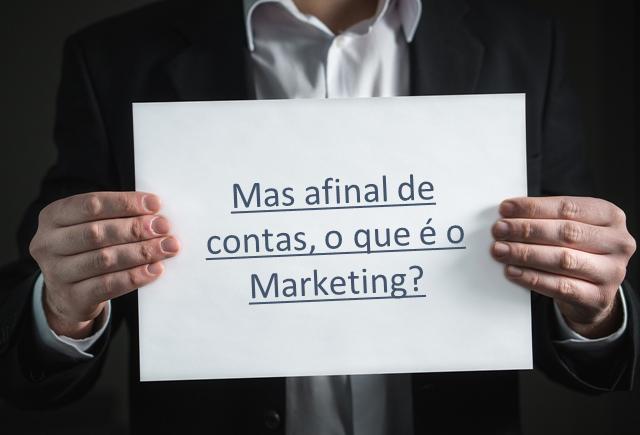 O que é o marketing