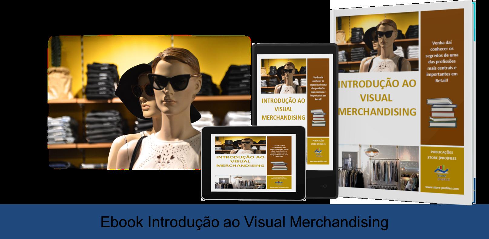 Capa site Ebook Introdução ao visual merchandising